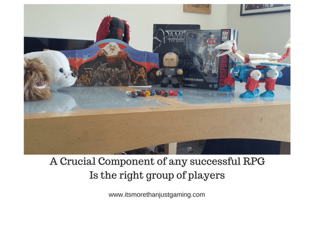 a crucial component to the success of any game is having the right players