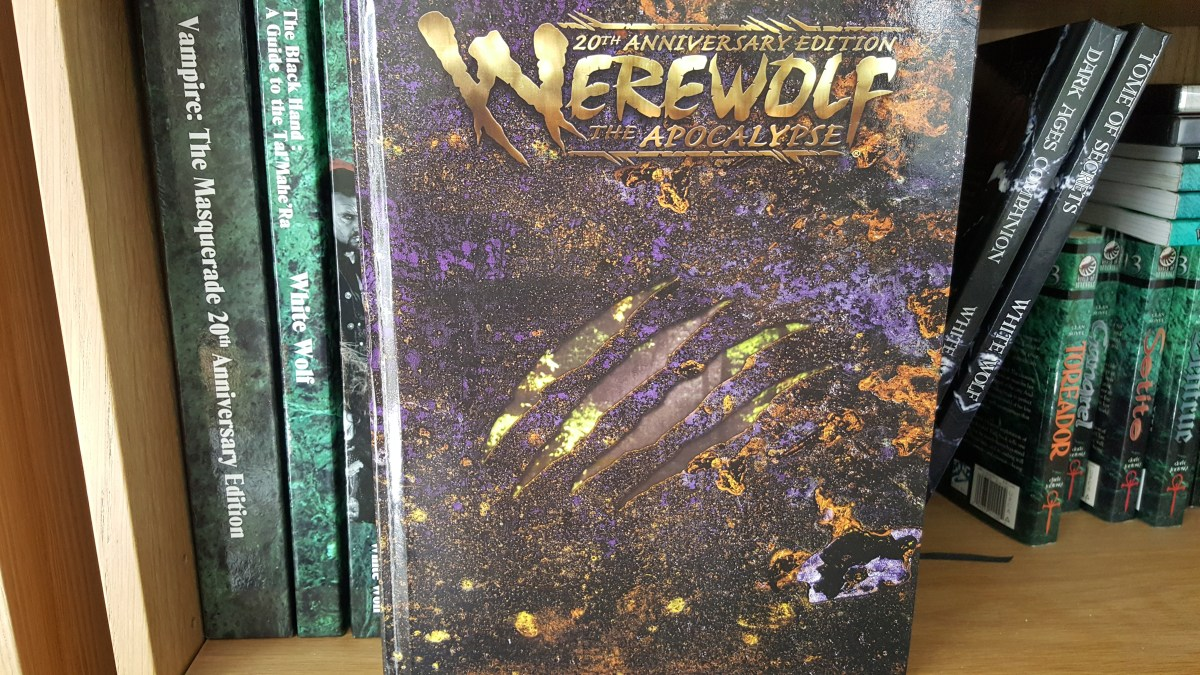 Werewolf: The Apocalypse 20th Anniversary Edition