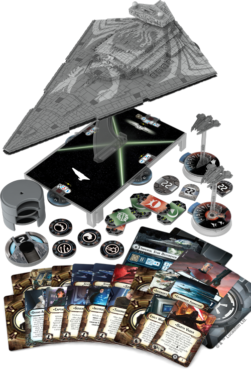 Star Wars Armada Star Destroyer Chimaera