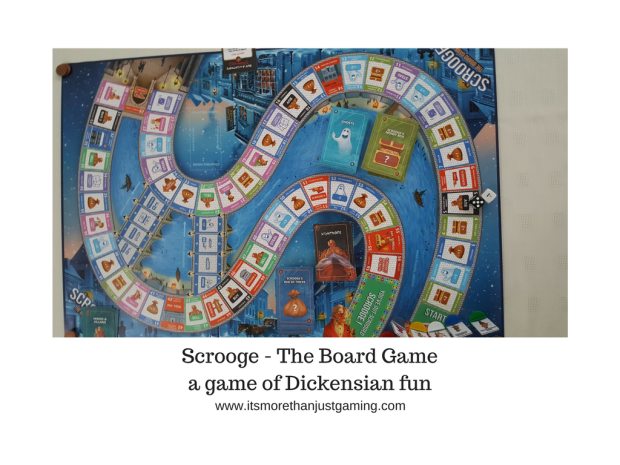Scrooge - The Board Game a game of Dickensian fun