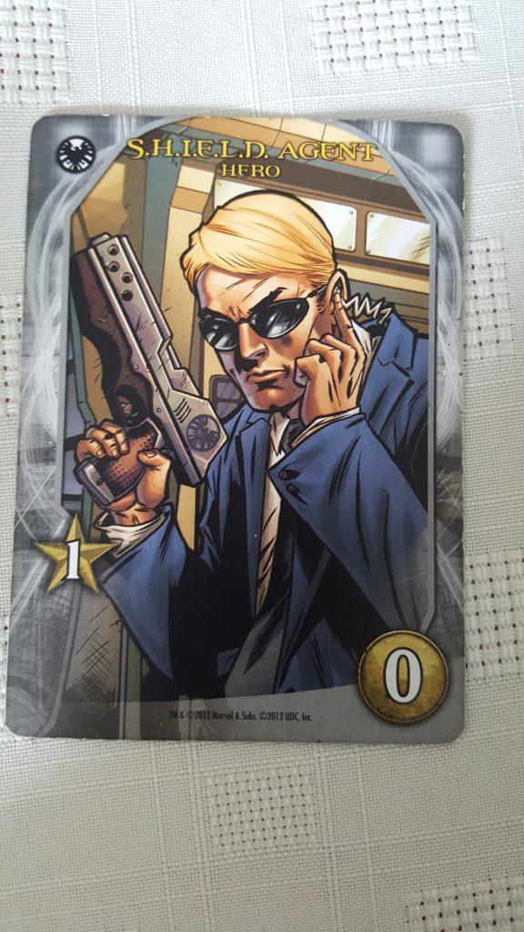 Shield Agent from Marvel Legendary