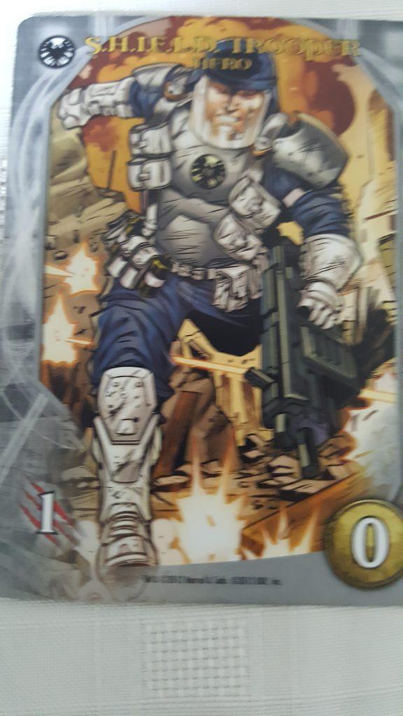 Shield Trooper from Marvel Legendary