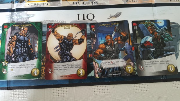 The Blade Cards from Marvel Legendary