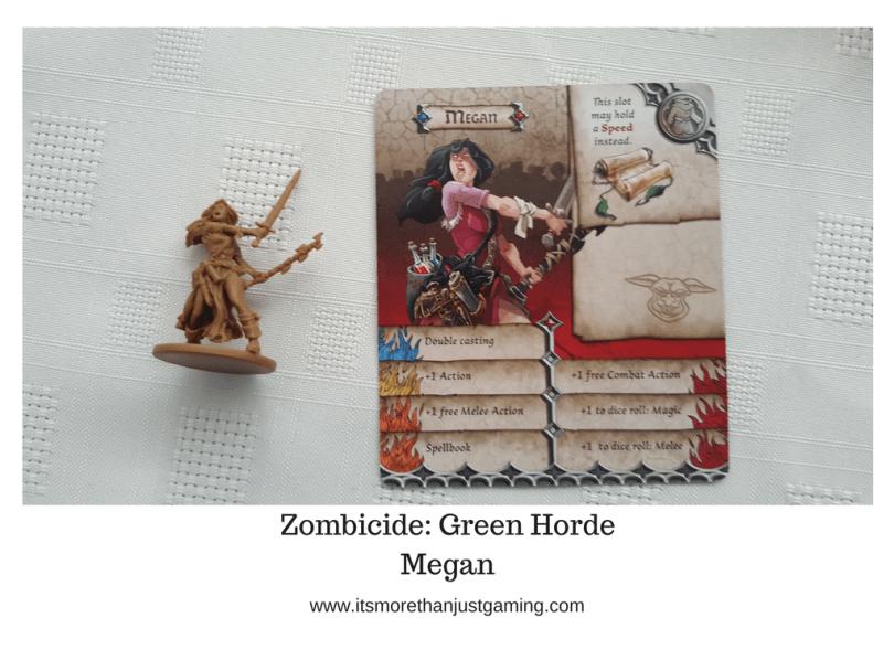 Zombicide_ Green Horde Megan
