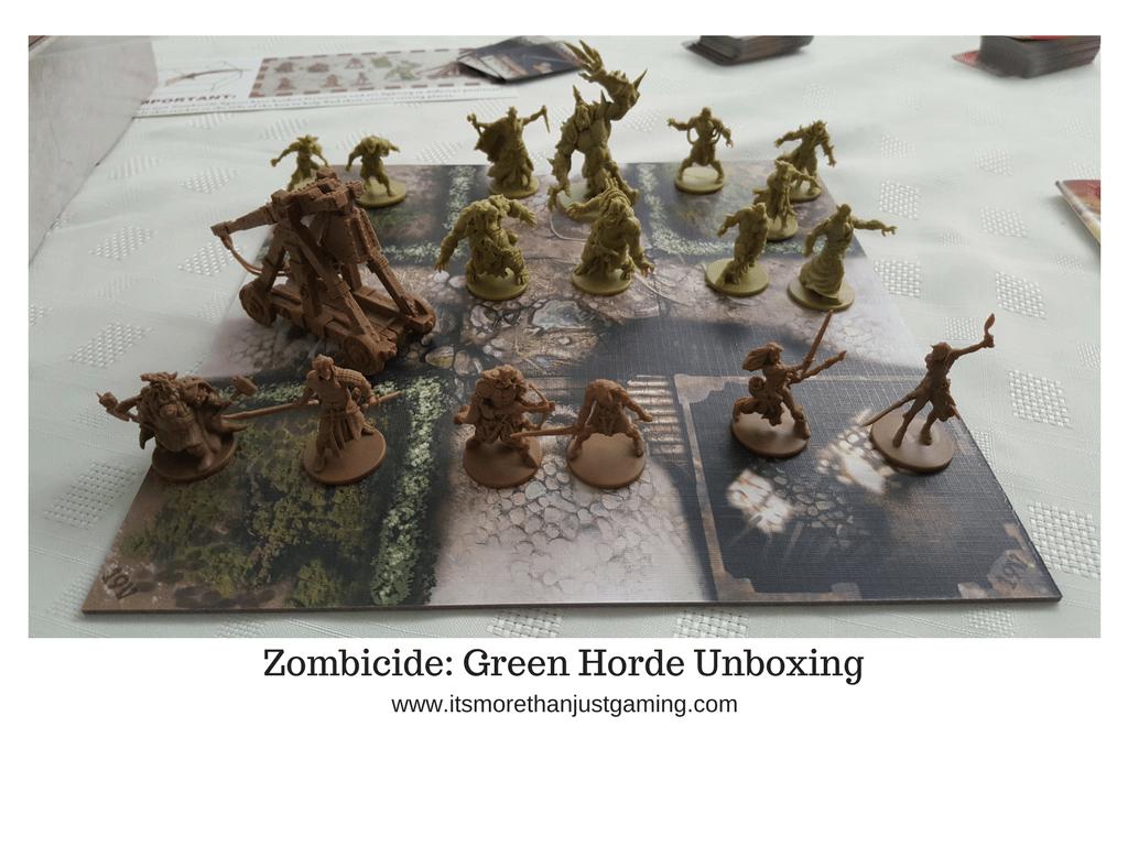 Zombicide: Green Horde Unboxing