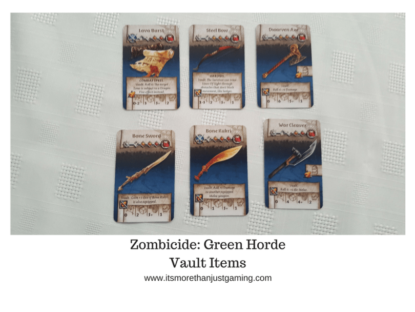Zombicide_ Green HordeVault Items