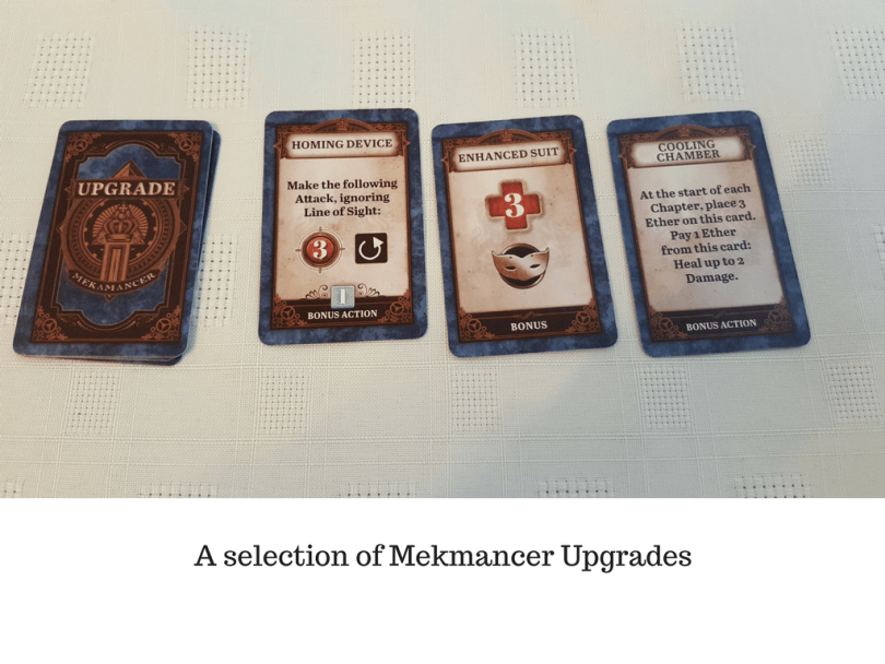 A selection of Mekmancer Upgrades