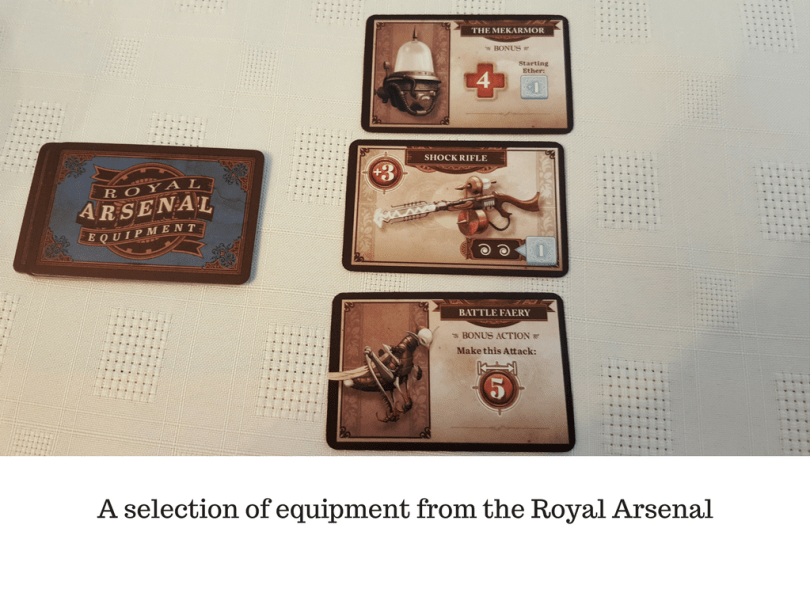 A selection of equipment from the Royal Arsenal