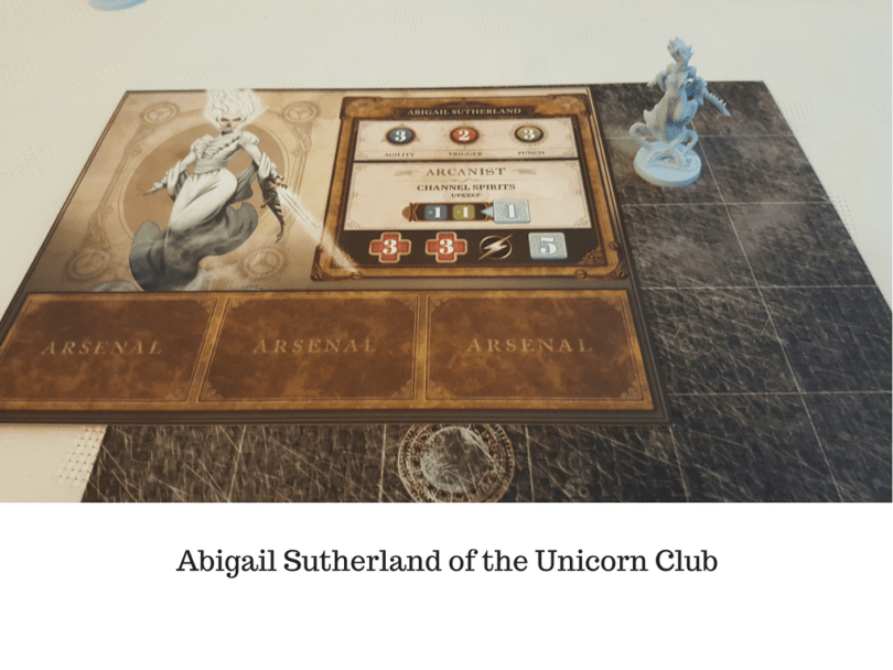 Abigail Sutherland of the Unicorn Club
