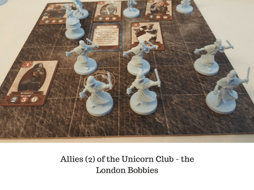 Allies (2) of the Unicorn Club - the London Bobbies