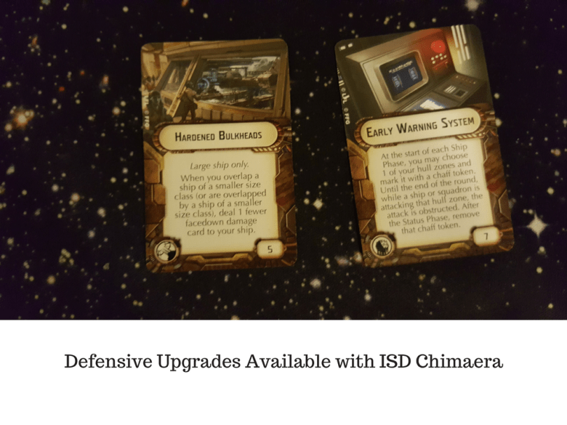Defensive Upgrades Available with ISD Chimaera