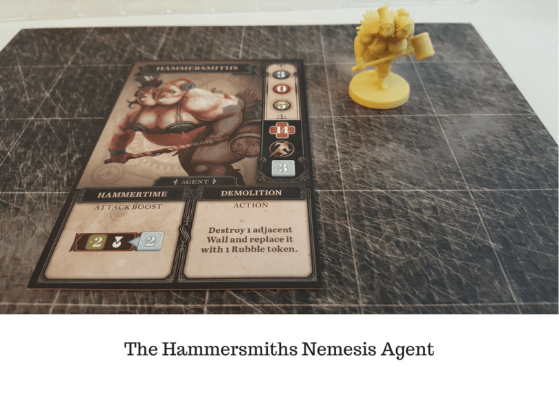 The Hammersmiths Nemesis Agent