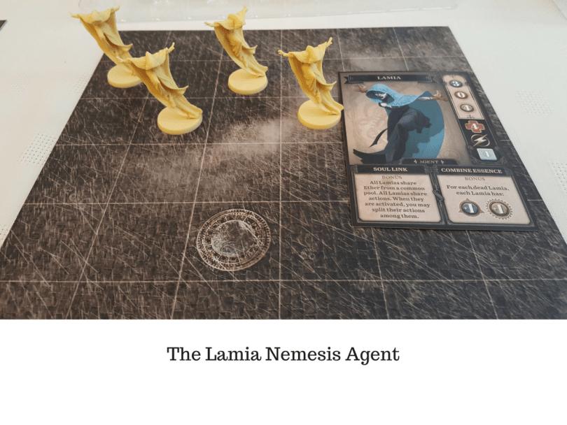The Lamia Nemesis Agent