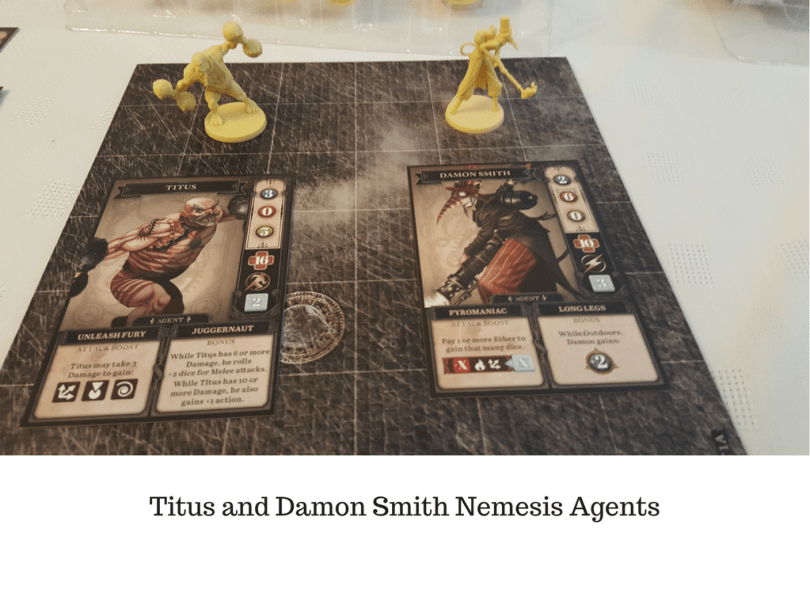 Titus and Damon Smith Nemesis Agents