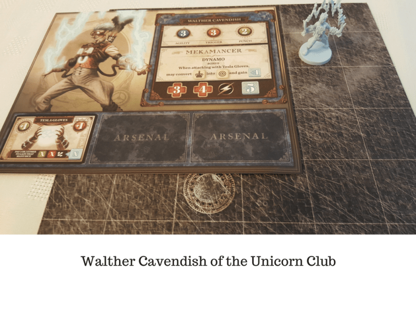 Walther Cavendish of the Unicorn Club