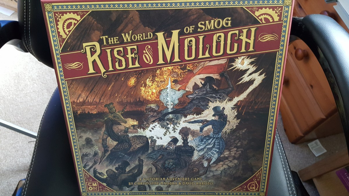 World of Smog: Rise of Moloch - Unboxing