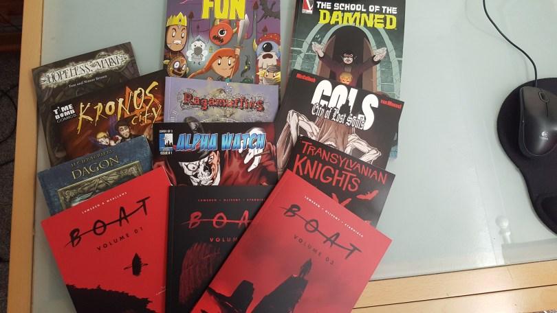 comics from comicon