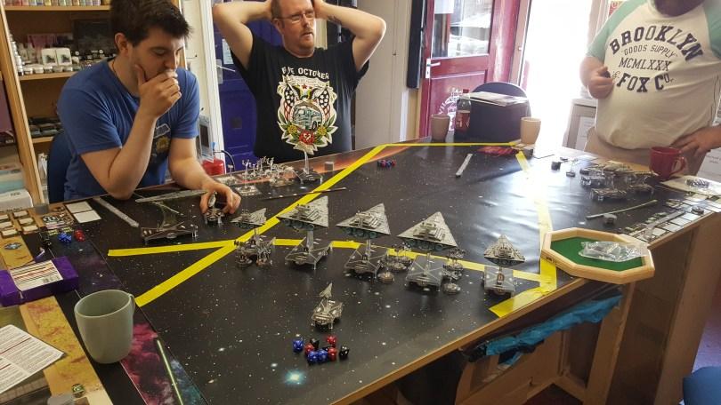 Armada Imperial Set up
