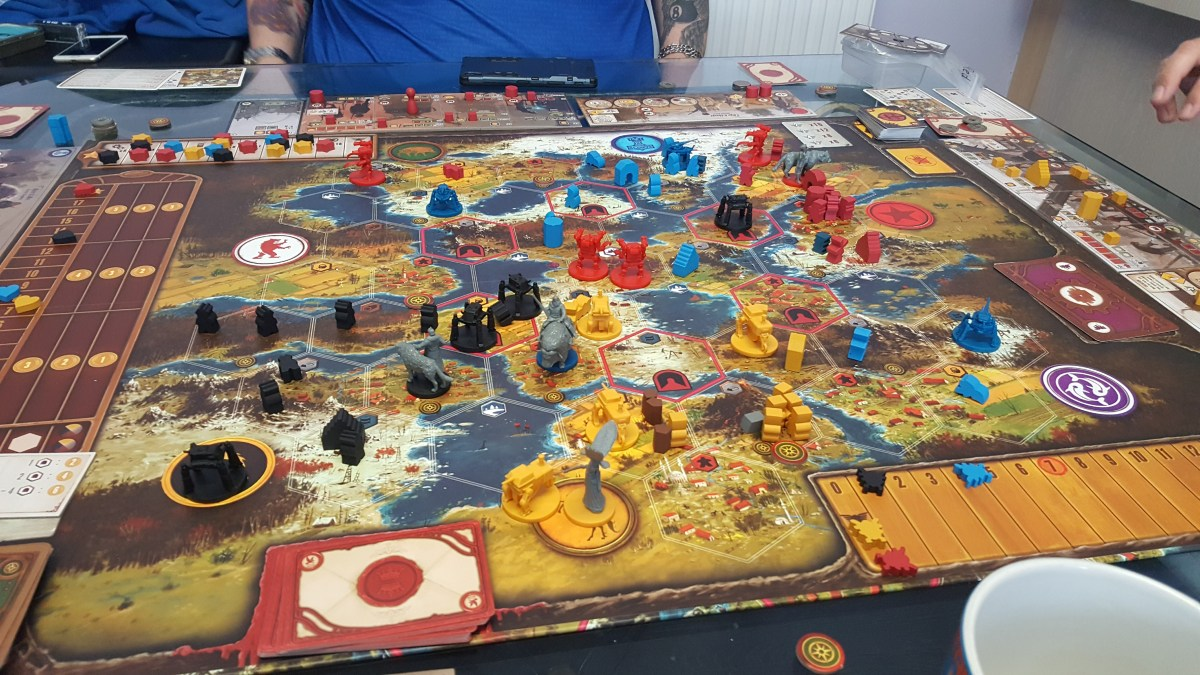 The Saxony Empire - A Game of Scythe