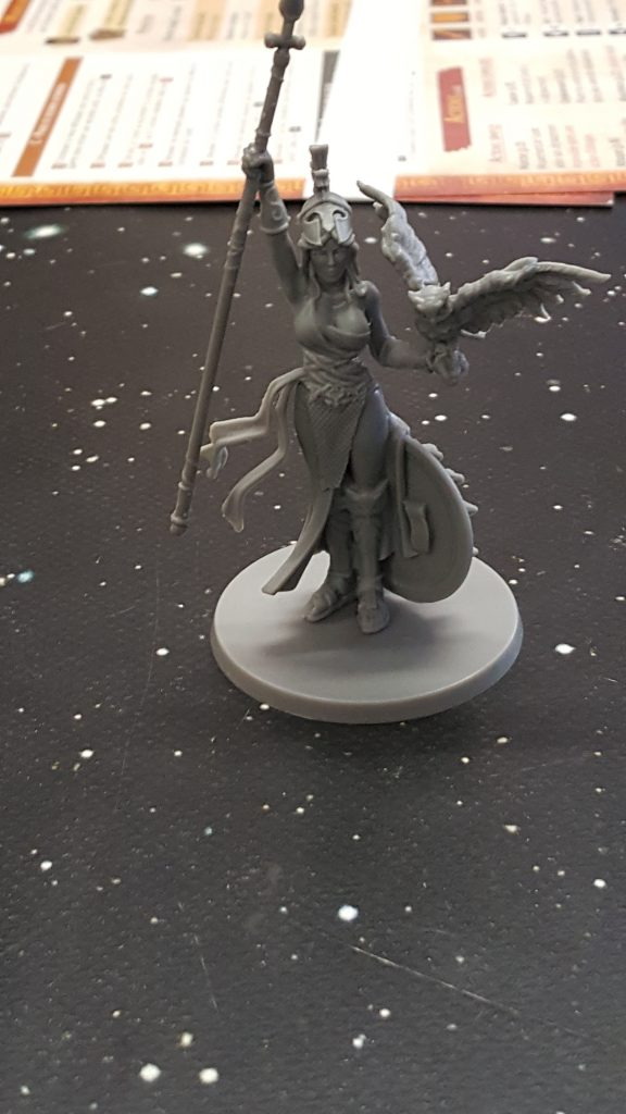 Athena from Mythic Battles