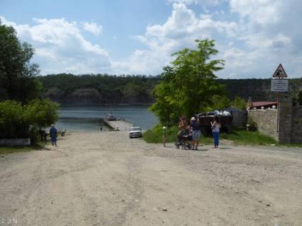 Ferry at Ustya