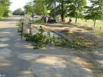 Ukrainian street shutoff
