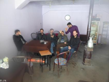 Men in the café