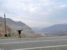 On the way to Güclükonak