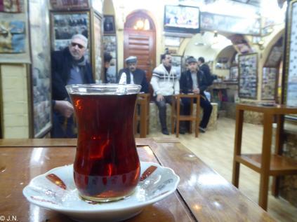 Typical tea house