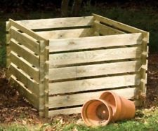 Empty a compost bin for the year a head
