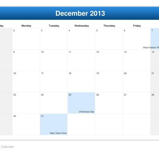 calendar-december-2013