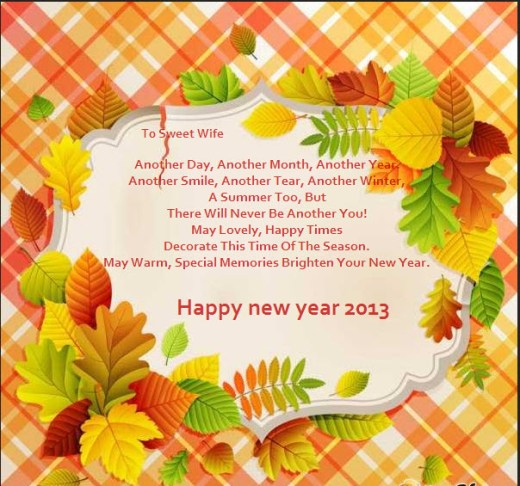 amazing ecards for wife happy new year 2013