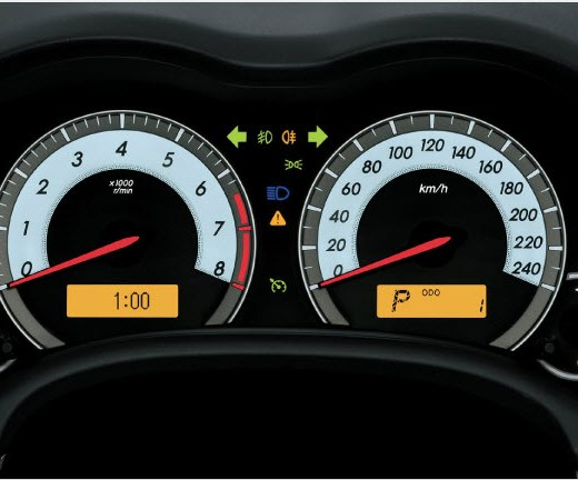 Toyota Corolla-2013 Interior speed meter picture