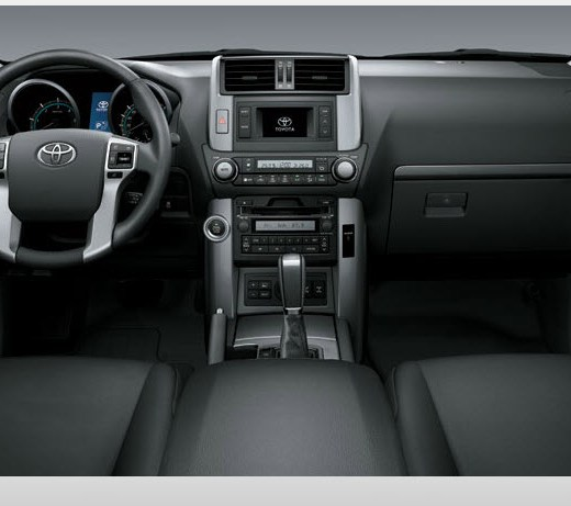 Toyota-Prado-2013-interior-black-color-leather