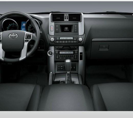 Toyota-Prado-2013-interior-black-color-leather