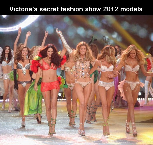 victoria secret fashion show competition 2012 Models
