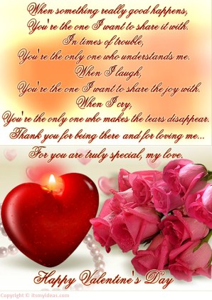 2013-Valentine day Greeting card with Quotes
