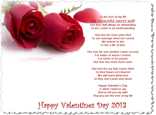 Happy-Valentine-2013 Ecards Quotes for wife