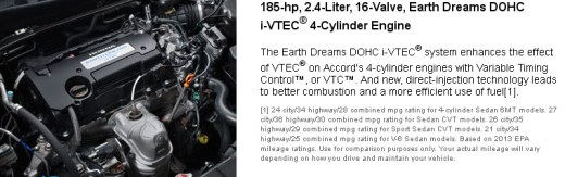 Honda-accord2013-engine-Technical-Specifications