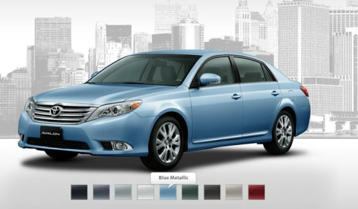 Latest-ToyotaAvalon2013 review-Color-Range-in-Dubai-Pakistan-India