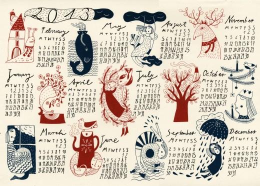 calendar-2013 new wallpaper and desktop background