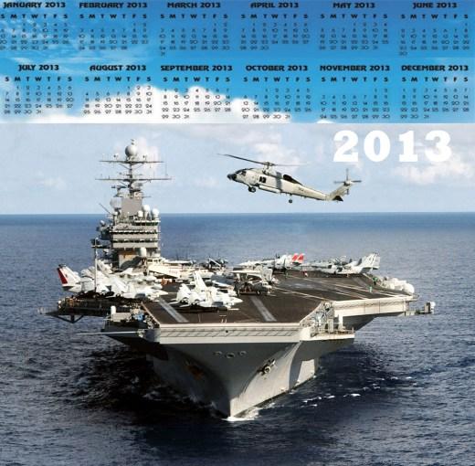 latest airforce-military-Hd-widescreen-calendar-2013-wallpaper