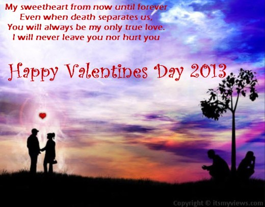 valentineday 2013 romantic poem for girlfriend picture