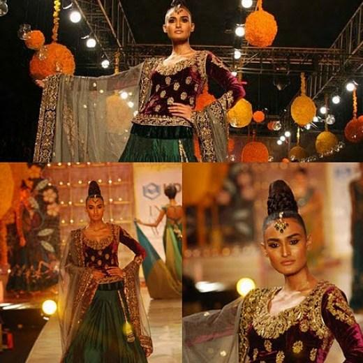 beautiful Indian Bridal Lehenga Fashion designer 2013