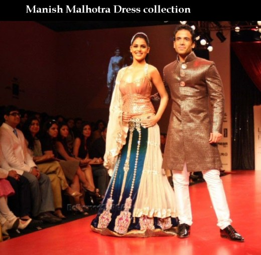 beautiful manish malhotra brida red lehenga collection 2013