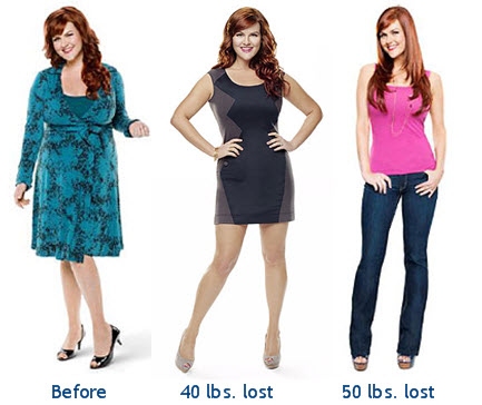 before and after weight loss deit program
