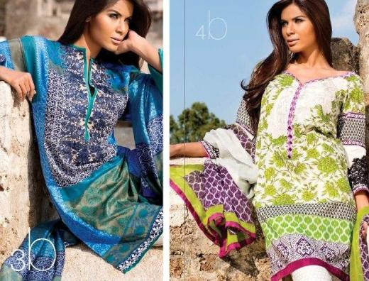Sana-Safinaz-summer-party-dresses-2013-2014 with price