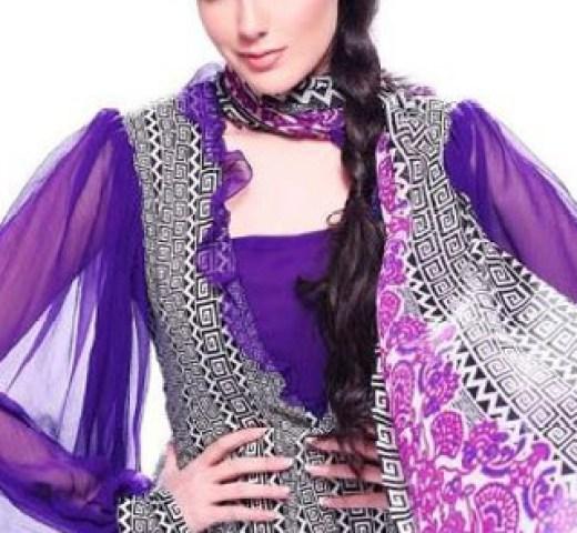 stylish-maria-b-lawn-dress-collection-2013-2014