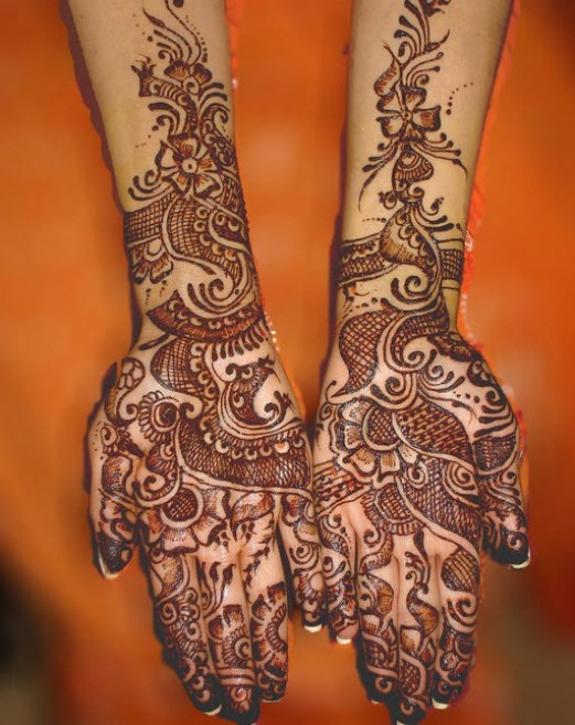 Beautiful-Bridal-Hand-mehndi-picture 2013 2014