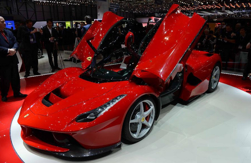Latest Ferrari Sports Car Model 2013 2014 Wallpaper